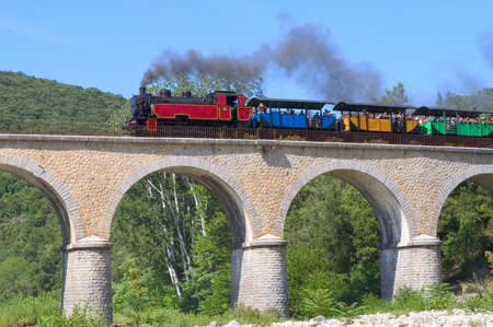 little tourist steam train from Anduze photo