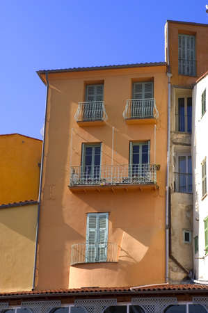 Town of Menton on the French Riviera to the Italian border photo