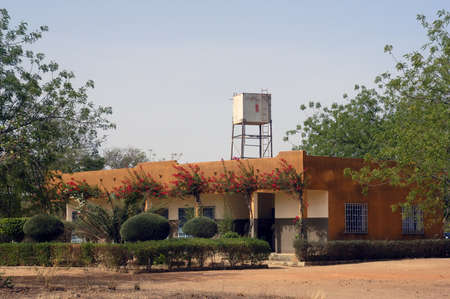 College Saint-Philippe de Koupela in Burkina Faso Faso. This college receives 800 pupils of which some are interns because they lives too far and often do not have any means of transport. It is a private and paying college.
