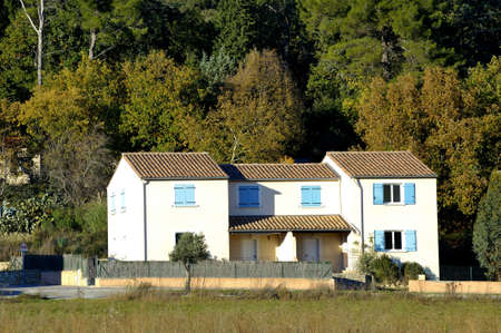 House in full heart of the Cevennes, mountainous French area of, here in the department of Gard. photo