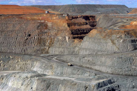 Goldmine of Kalgoorlie in the western australia photo