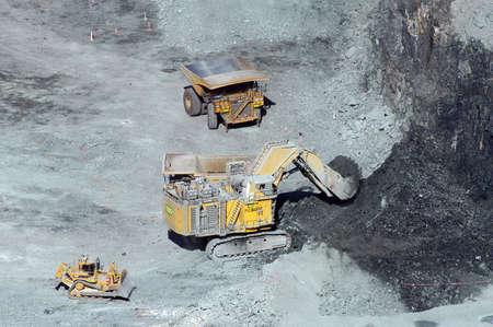 Goldmine of Kalgoorlie in the western australia