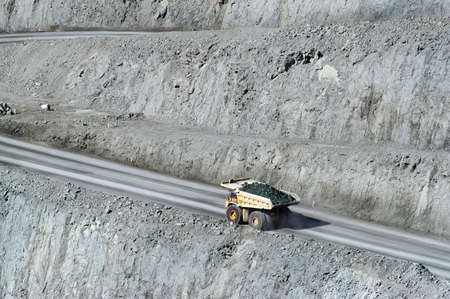 mineria: Mina de oro de Kalgoorlie en Australia Occidental Foto de archivo