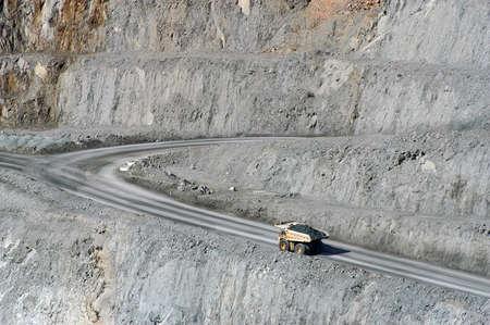 lucrative: Goldmine of Kalgoorlie in the western australia