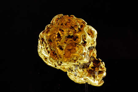 The museum of the gold of Ballarat in Australia in Victoria where all the history of the gold and marvellous gold nuggets of impressive size is. Stock Photo - 17526068