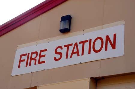leonora: ire station of Leonora in the Western Australia Stock Photo