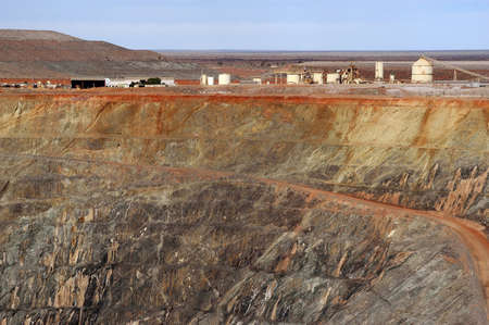 Goldmine of Leonora in the Australia Western Stock Photo - 17580539