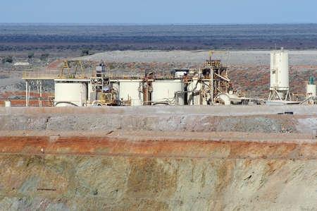 Goldmine of Leonora in the Australia Western Stock Photo - 17534924