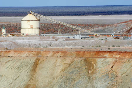 Goldmine of Leonora in the Australia Western Stock Photo - 17580470