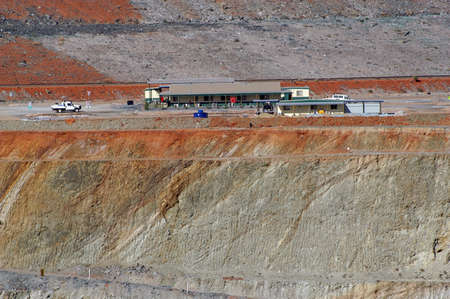 Goldmine of Leonora in the Australia Western Stock Photo - 17580663