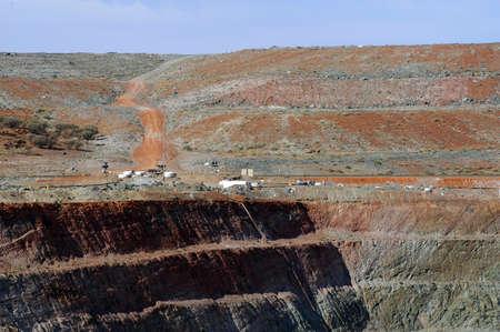 Goldmine of Leonora in the Australia Western Stock Photo - 17580546
