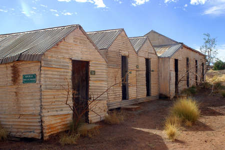 leonora: phantom city of Leonora in the Australia Western which was used to place the blue-collar worker of the goldmine, city now given up and preserved in the state as if the inhabitants had disappeared Editorial