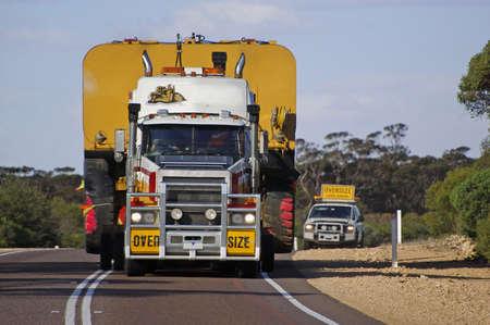 remolque: transporte por carretera en Australia