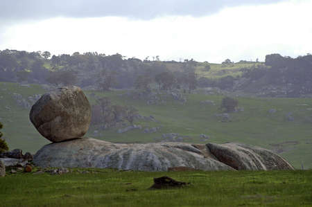 Country of the granite in Australia in Victoria photo
