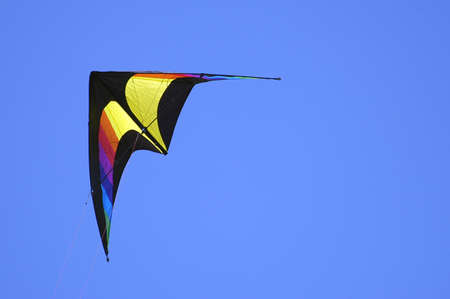 kite in a blue sky photo