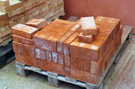 building material: manufacturing plant of bricks