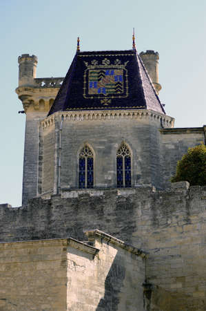 palate: The ducal palate of Uzes