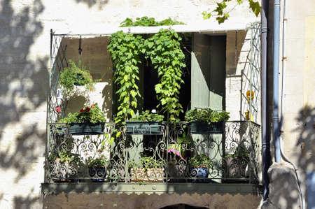 A balcony of Uzes