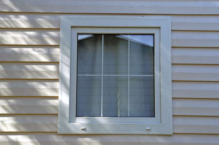 windows of Mobil-home photo