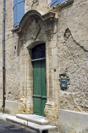 old French village of Gard, Cardet photo