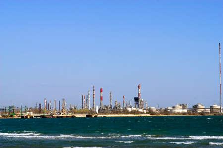 petrochemie industrie: Petrochemische industrie in Marseille