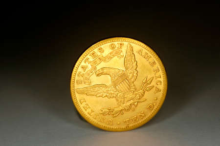 a coin ten dollar gold photo
