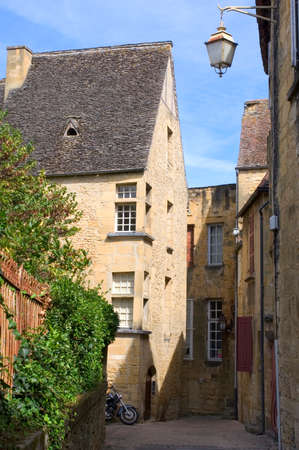 A street in the center of Sarlat photo