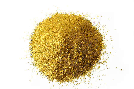 mining gold: lots of glitter alluvial gold found in France