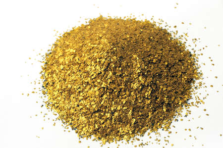 alluvial: lots of glitter alluvial gold found in France