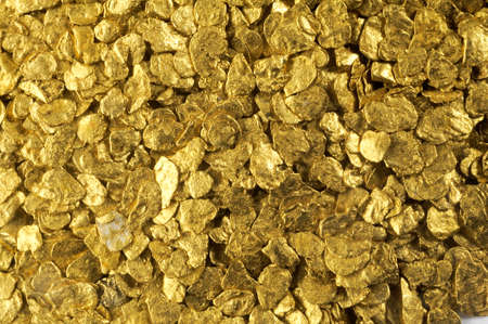 glitter background placer gold found in France
