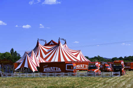 representations: All of a great circus of Zavata family installed its representations Editorial