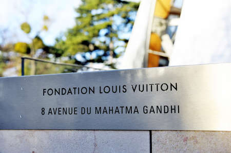 arts culture and entertainment: Museum of Contemporary Art of the Louis Vuitton Foundation created by the American architect Frank Gehry, the building is located Porte Maillot at the entrance of the Bois de Boulogne.