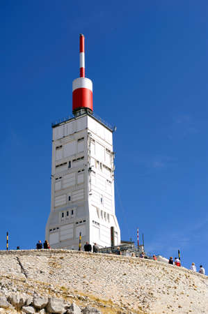 france station: Antenna radio and reception facilities and weather station of Mount Ventoux