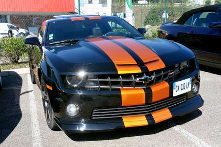 sportcar: Mustang is a city in the northwestern United States. Editorial