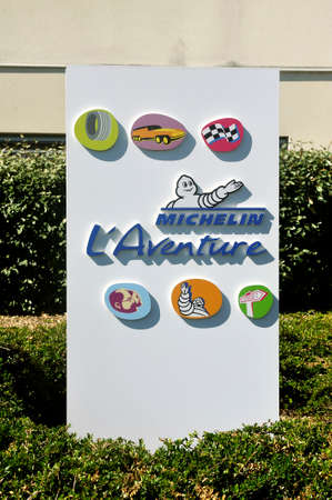 Entry to the Aventure Michelin or brand museum in Clermont-Ferrand