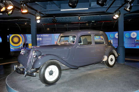 this Citroen front wheel drive was used by Michelin as a test laboratory for the brand's tires