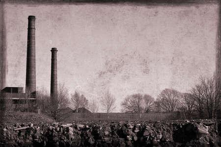 lancashire: Old style Lancashire mill