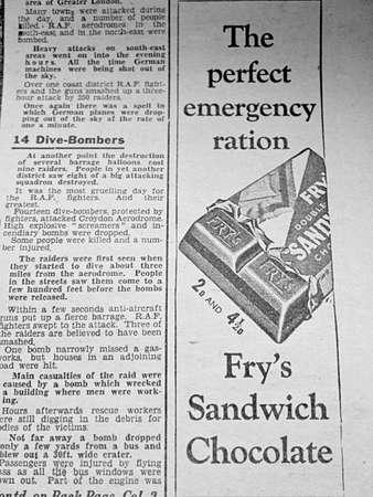 oude krant: Oude krantenadvertenties 1940 Redactioneel