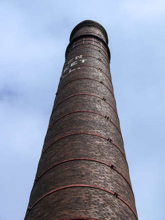 lancashire: Lancashire cotton mill chimney Editorial