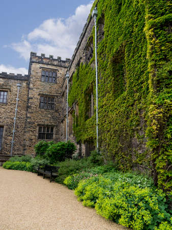 burnley: Right wing of Towneley Hall Burnley Editorial