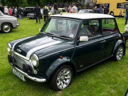 cooper: Classic John Cooper Mini sports car