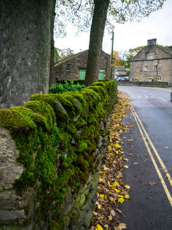 wharfedale: Autumn has come to Grassington Yorkshire