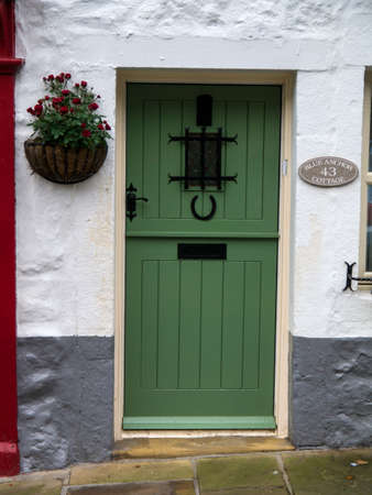 wharfedale: Blue Anchor cottage Grassington Yorkshire