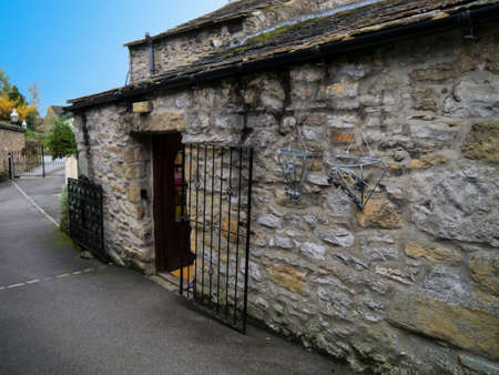 wharfedale: The old smithy where Tom Lee was a Blacksmith in Grassington Yorkshire