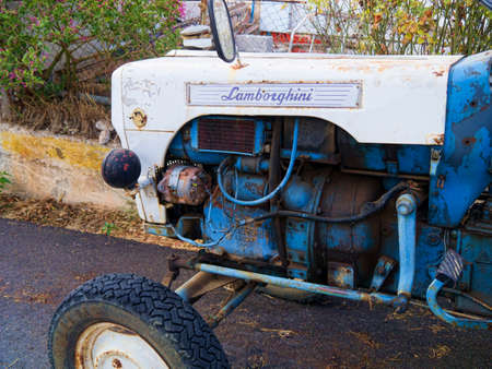kefallonia: Lamborghini tractor
