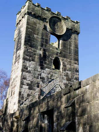 thomas: Old church of St. Thomas a Becket in Heptonstall in Yorkshire
