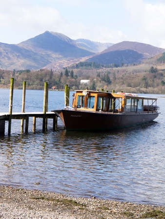 cumbria: Cruise around Derwentwater in the Lake District town of Keswick in Cumbria