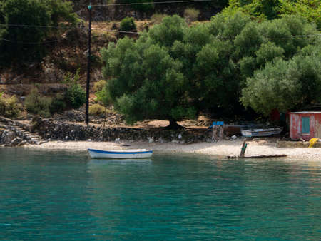 tourists stop: Discover the hidden coves of the Island of Kefalonia in Greece