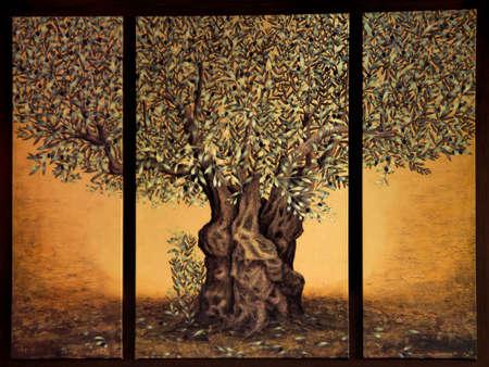 triptico: Tríptico del árbol de la vida