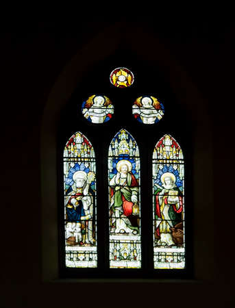 sunday school: This stained glass window in St John church Keswick is a memorial to Thomas Highton headmaster of Brigham Sunday school 1880 to 1907 Editorial
